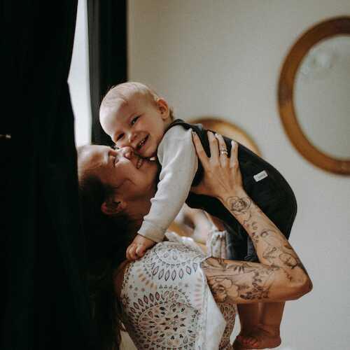 Natalia i mały Michaś