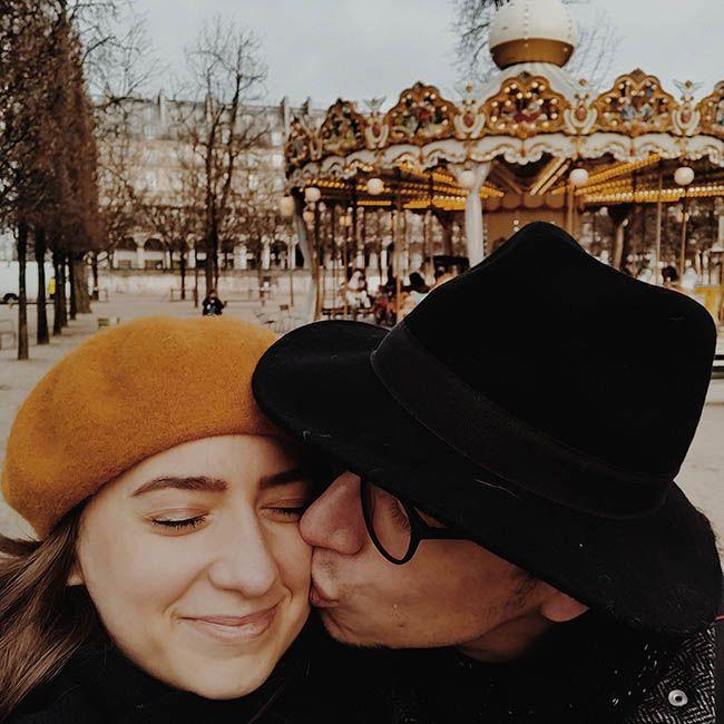 agatka i krzys paryż park