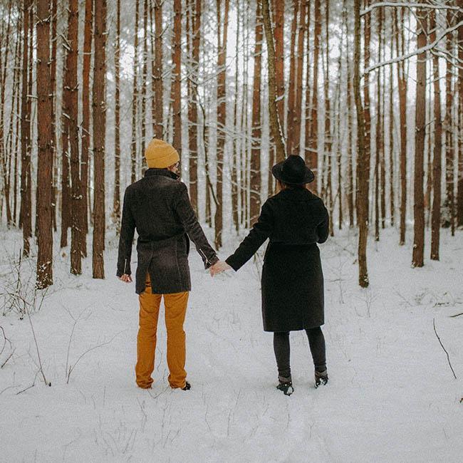 nasza leśna zimowa przygota po Wrocławiu