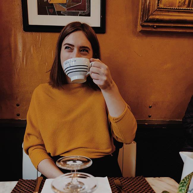 kawka w Paryżu