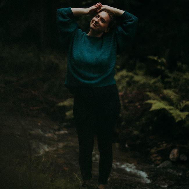 leśna natura Agaty Dobrzańskiej