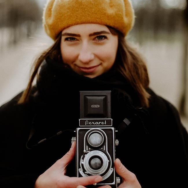 życie z analogową fotografia Agata francja